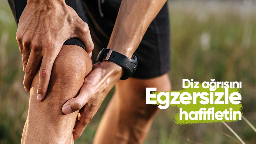 diz ağrısını egzersizle hafifletin